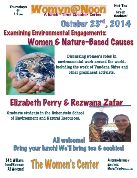 EEE - Women Nature Causes - screens image